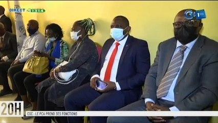 RTG/ Installation du nouveau président du conseil d'administration du conseil gabonais des chargeurs par le ministre en charge des transports