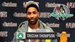 Tristan Thompson Game 3 Postgame Interview | Celtics vs Nets