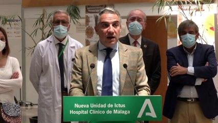El Hospital Clínico estrena la segunda unidad de Ictus de la provincia de Málaga
