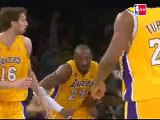 Kobe Bryant scored 21 of his game-high 30 points in the seco