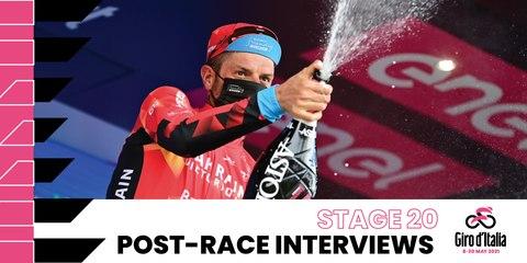 Giro d'Italia 2021 | Stage 20 | Interviews post race