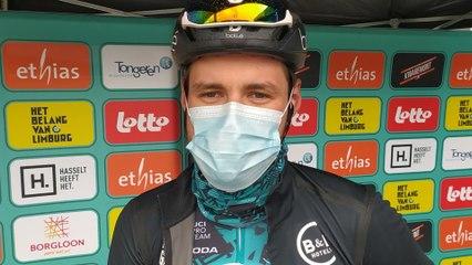 Jérémy Lecroq au Tour du Limbourg