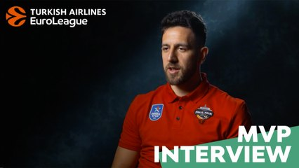 MVP interview, Vasilije Micic: 'My idol used to be Diamantidis'