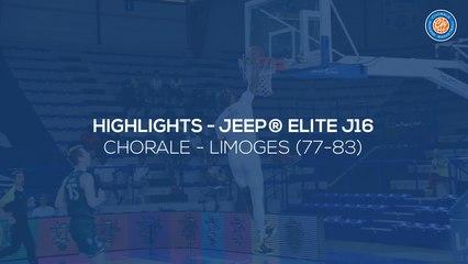 2020/21 Highlights - Chorale - Limoges (77-83, JE J16)