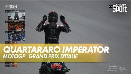 Victoire magistrale de Fabio Quartararo