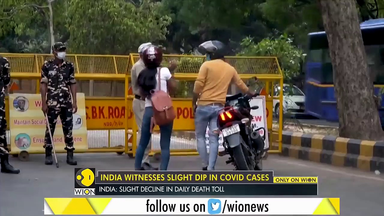 Coronavirus Update – India witnesses slight dip in COVID cases _ Latest English News _ WION News