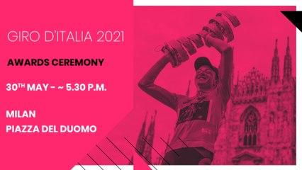 2021 Giro d'Italia Awards Ceremony
