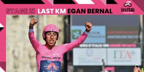 Giro d'Italia 2021 | Stage 21 | Last KM Egan Bernal