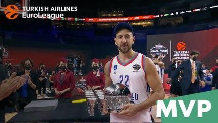 Final Four MVP: Vasilije Micic, Anadolu Efes Istanbul