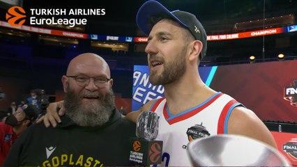 Final Four MVP Interview, Vasilije Micic