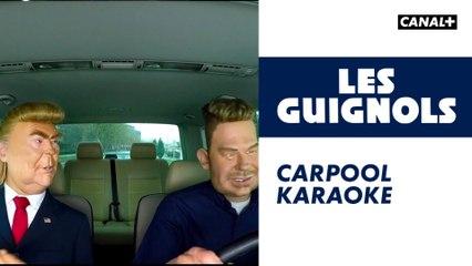 Carpool Karaoke - Les Guignols - CANAL+