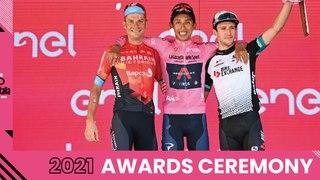 Giro d'Italia 2021 | Awards Ceremony