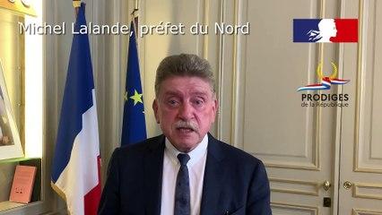Préfecture du Nord – Le préfet remercie les jeunes Prodiges de la République – Promotion « Engagement »