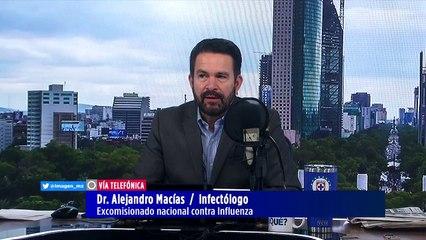 México ya tiene el 50% de inmunidad de covid-19: Alejandro Macías