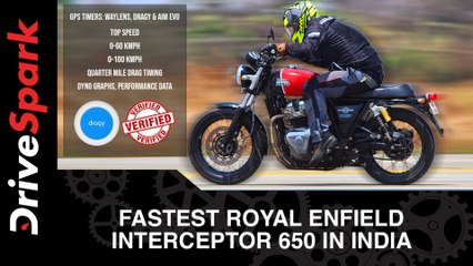 Fastest Royal Enfield Interceptor 650 In India   Mantra Racing Performance Parts For RE 650 Twins