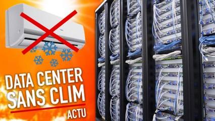 On a visité un Data Center qui refroidit l'air... sans climatisation !