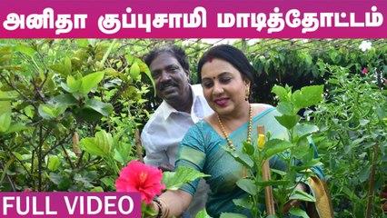 அனிதா குப்புசாமி மாடித்தோட்டம் - Anitha Kuppusamy Terrace Garden