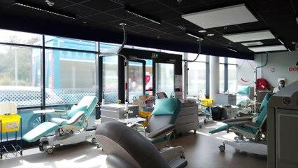 Actus : La Maison du don du sang de Dunkerque a déménagé au Pôle marine - 01 Juin 2021