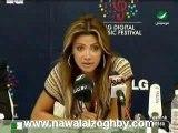 Nawal zoughbi Wael  lg interview from akher akhbar rotana
