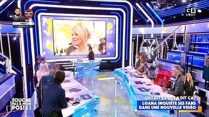 """Gilles Verdez parle de Loana dans """"Touche pas à mon poste"""", sur C8"""