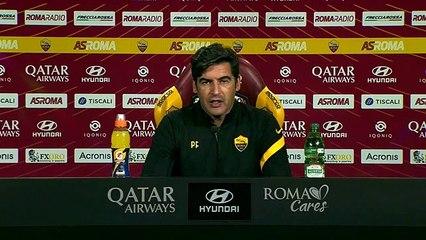 Fonseca in conferenza prima di Genoa-Roma (7/11/2020)