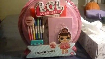 LOL Surprise Fashion Plate Unboxing   LOL Surprise Dolls Fun