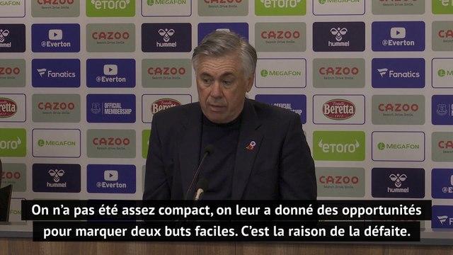 "8e j. - Ancelotti : ""Une mauvaise performance défensive"""