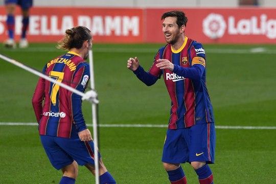 La Liga - Messi sauveur du Barça... et de Griezmann !