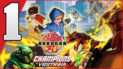 Bakugan Champions of Vestroia Walkthrough Part 1 (Switch)