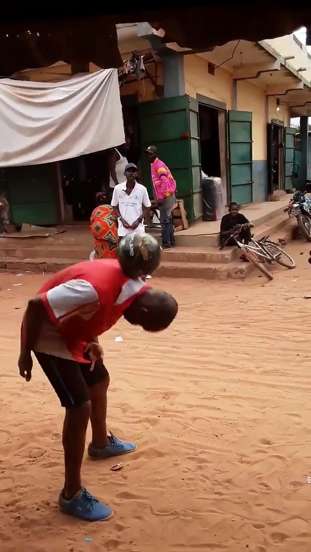 African Football Freestyle Mama Africa