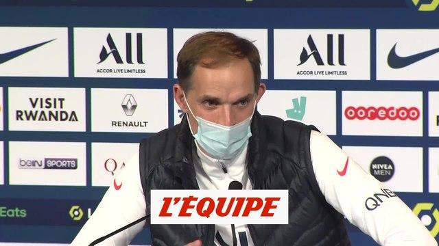 Tuchel : « C'était difficile de trouver un onze titulaire » - Foot - L1 - PSG