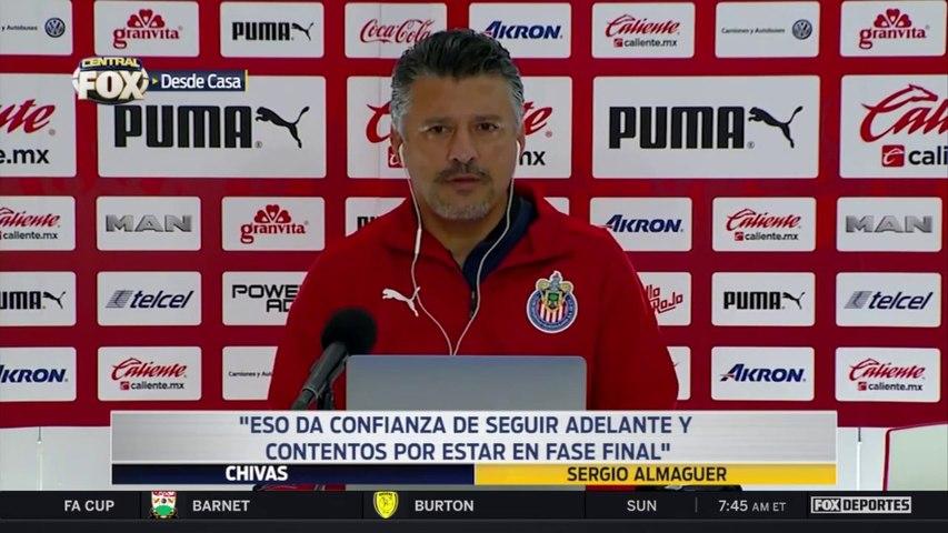 """""""Vucetich planteó 8 finales, hoy fue una"""", Sergio Almaguer: Liga MX"""