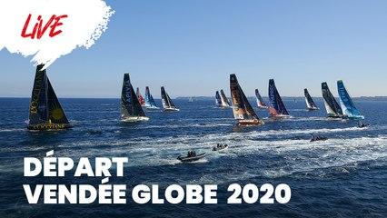 [Replay] Départ Pontons - Départ du Vendée Globe 2020