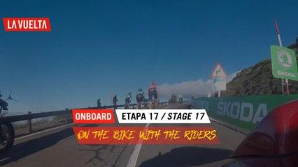 Onboard Camera  - Étape 17 / Stage 17   La Vuelta 20