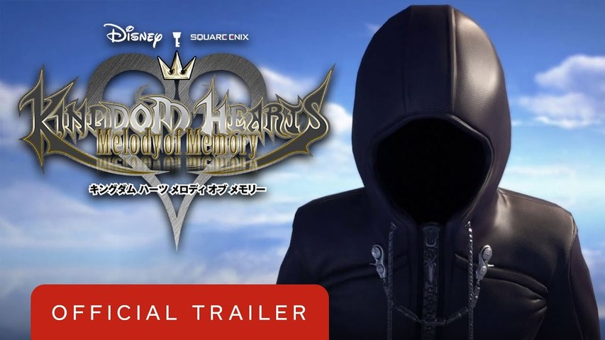 Kingdom Hearts Melody of Memory Announcement Trailer