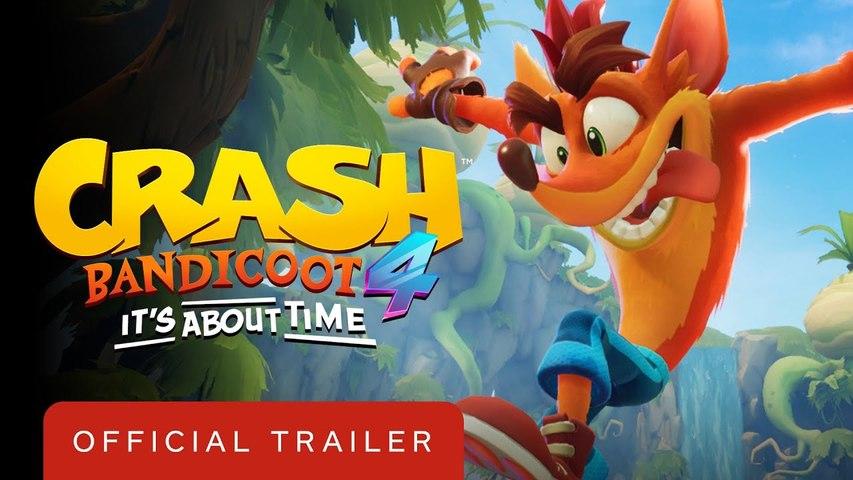 Crash Bandicoot 4 It's About Time - Official Trailer