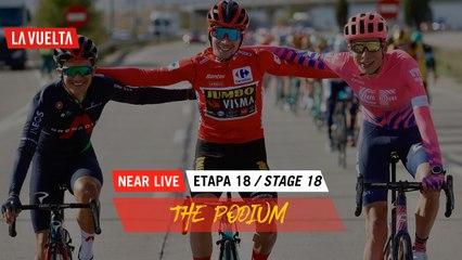 The Podium / Le Podium - Étape 18 / Stage 18   La Vuelta 20