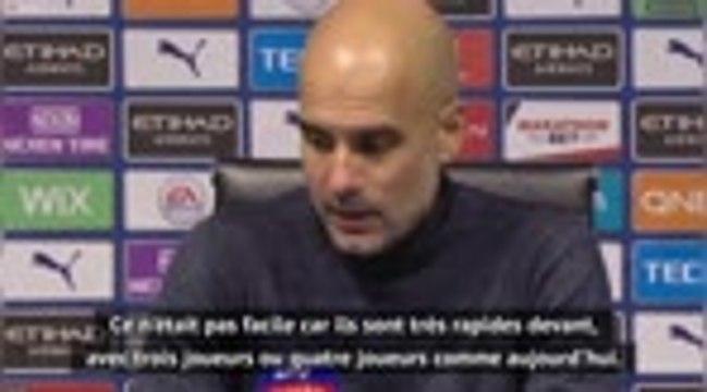 """8e j. - Guardiola : """"Un résultat logique"""""""