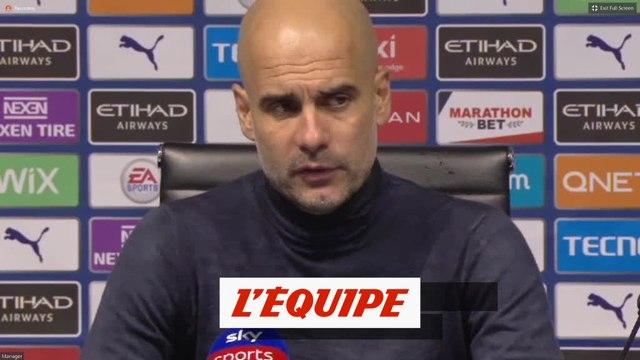 Pep Guardiola : « Un résultat logique » - Foot - ANG - Liverpool