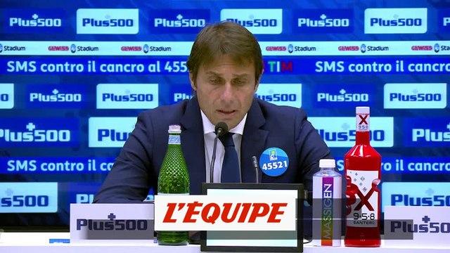 Antonio Conte : « Un résultat positif » - Foot - ITA - Inter