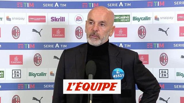 Pioli : « Nous avons su faire le dos rond » - Foot - ITA - AC Milan