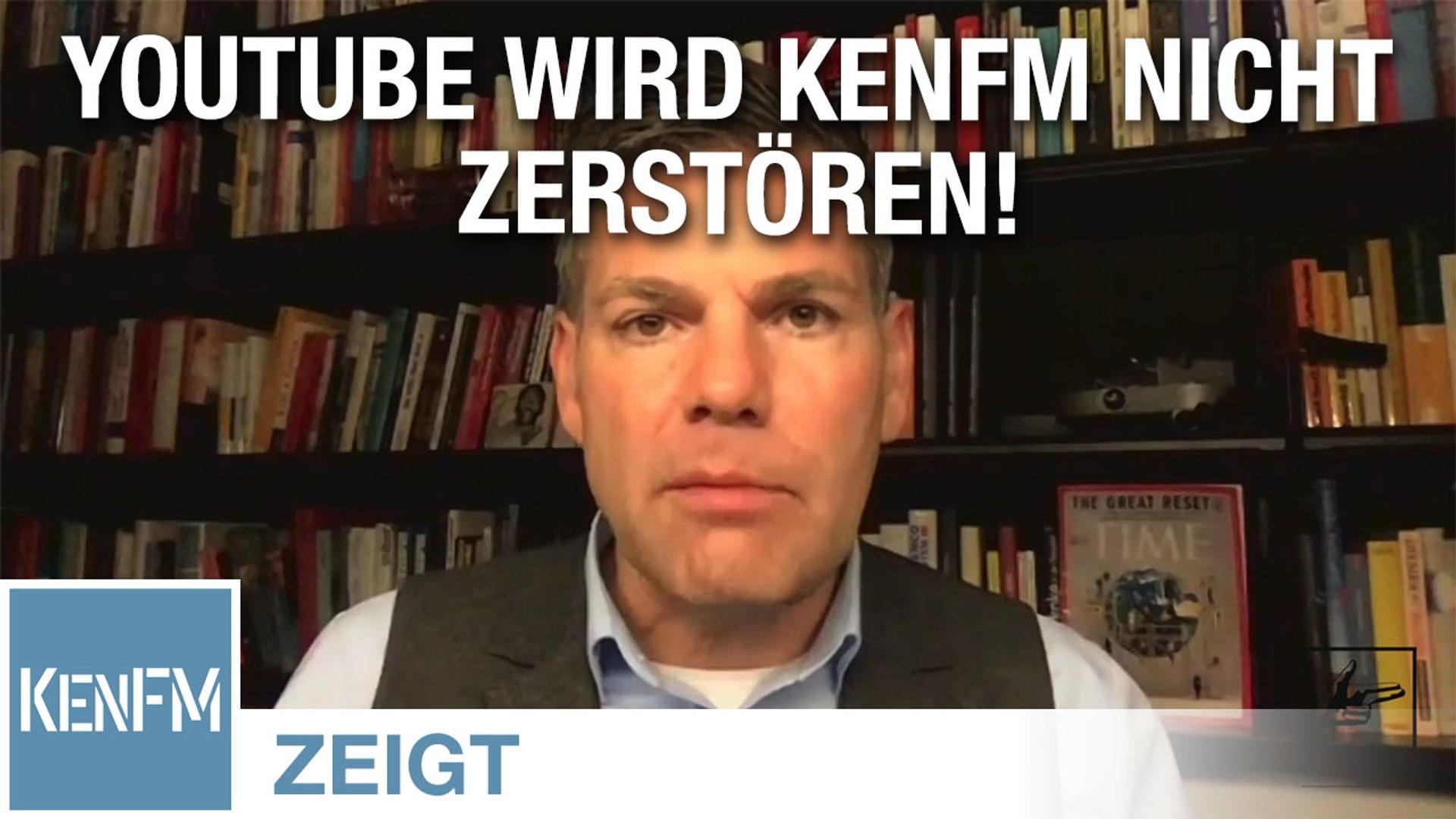 Ken Jebsen – YouTube wird KenFM nicht zerstören!