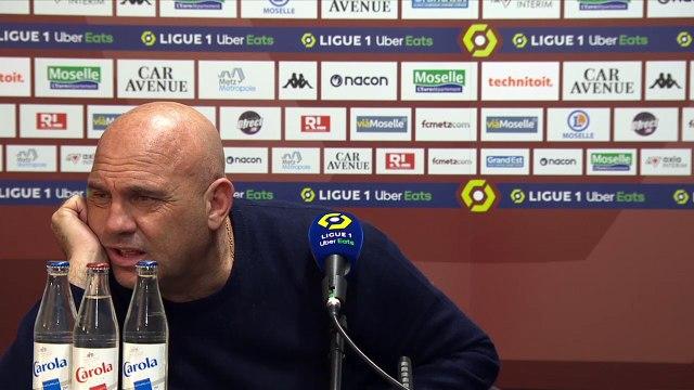 Metz - Dijon, la réaction des coaches