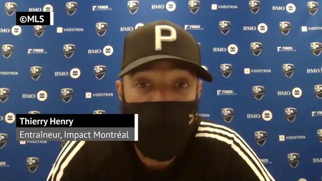 """Impact Montréal - Henry : """"On mérite cette victoire"""""""