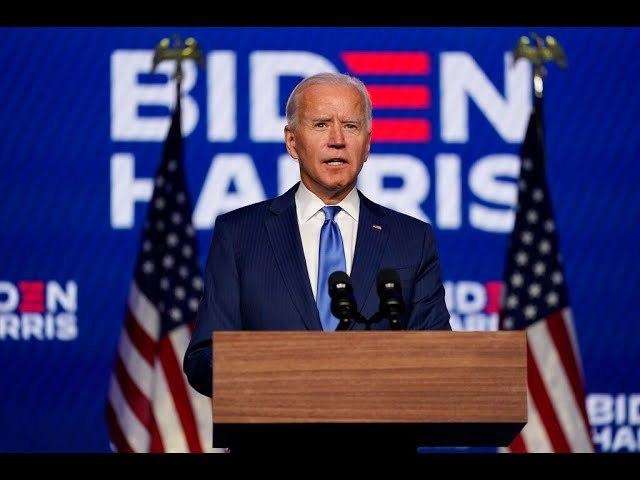 """Joe Biden Says """"We're Going To Win This Race"""" Acknowledges """"Numbing"""""""