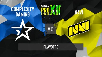 CSGO - Natus Vincere vs. Complexity [Train] Map 2 - ESL Pro League Season 12 - Playoffs - EU