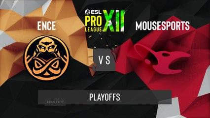 CSGO - Mousesports vs. ENCE [Train] Map 2 - ESL Pro League Season 12 - Playoffs - EU