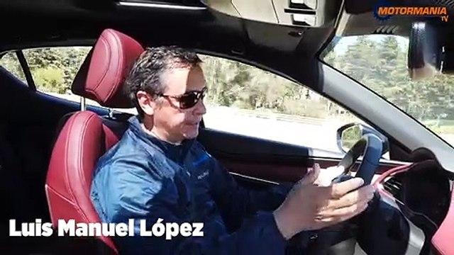 MAZDA  3  TURBO, Chacho López
