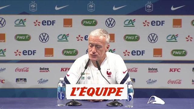 Deschamps a de «bonnes relations» avec le PSG - Foot - Bleus