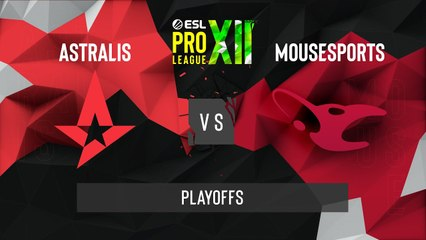 CSGO - Astralis vs. mousesports [Dust2] Map 1 - ESL Pro League Season 12 - Playoffs - EU